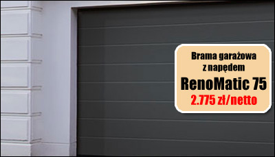 Garażowa Brama Hormann RenoMatic 75